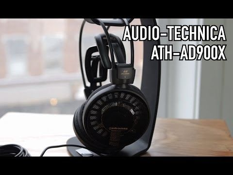 Audio-Technica ATH-AD900X Open-Back Audiophile Headphones Review - YouTube