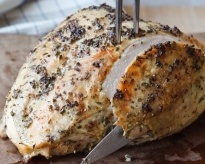 Herb roasted turkey breast by Ina Garten