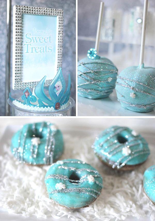 Trend Alert: Frozen Party {Sweets Table}