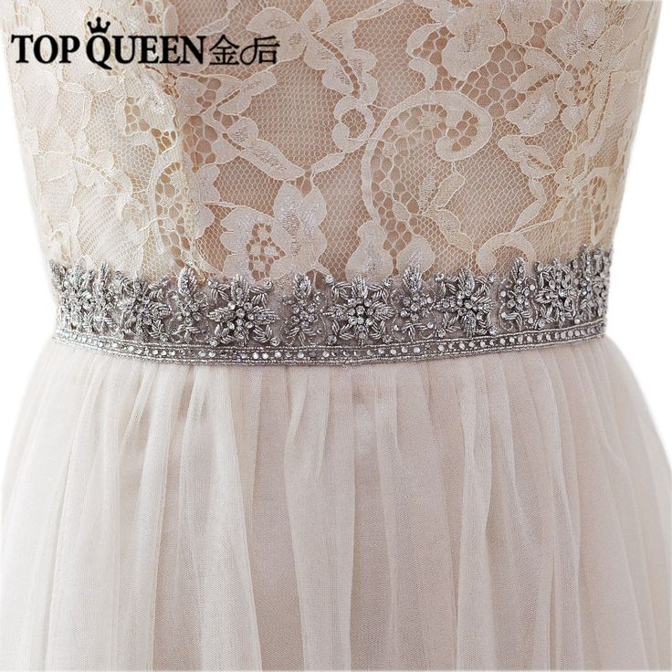 >> Click to Buy << TOPQUEEN AS11 India Silk  Bride Evening Party Gown Dresses Accessories Wedding Sashes Belt/Waistband Bridal Belts Sashes #Affiliate