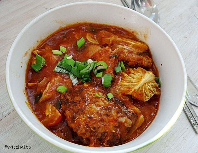Mitinita: Retete coreene: Chiftelute cu sos de kimchi