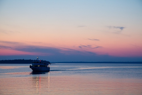 Blue Heron Tobermory sunset cuise