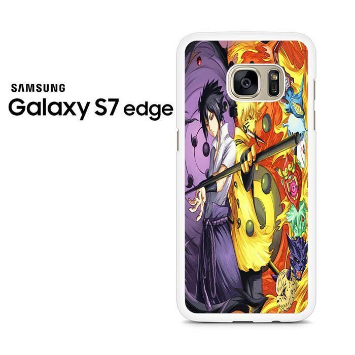 Naruto Dan Sasuke Rikudo Sennin Samsung Galaxy S7 Edge Case