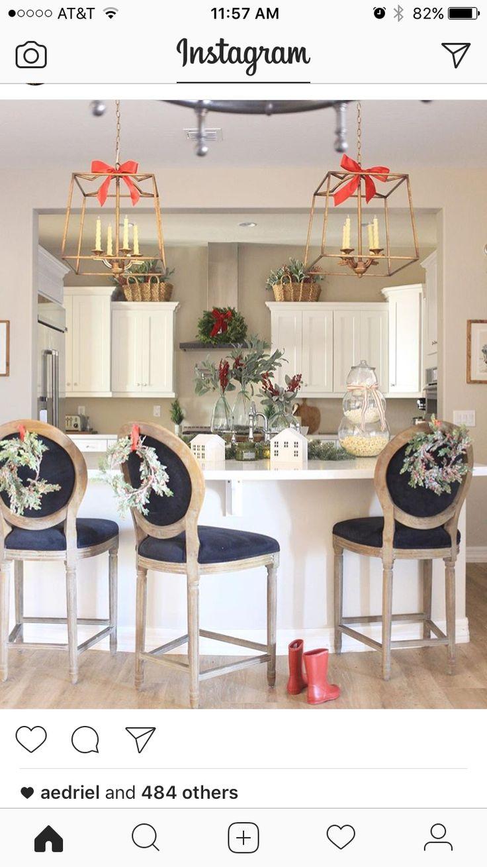 Ausgezeichnet Weihnachtsdekoration Für Küchentisch Bilder - Küche ...