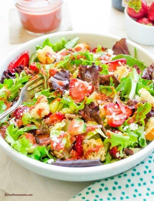 strawberry-fields-panzanella-salad-with-strawberry-balsamic-vinaigrette4 | flavorthemoments.com