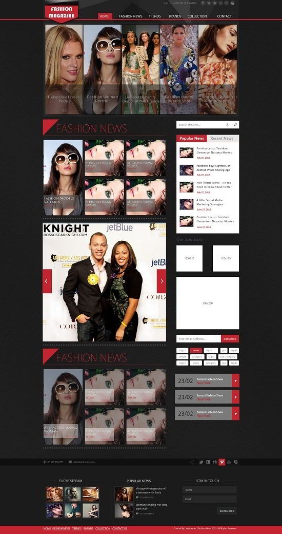 195 best downloads templates images on pinterest templates download free premium psd fashion blog template pronofoot35fo Choice Image