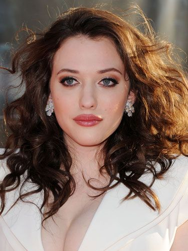 Kat Dennings    She's on of my current girl crushes. Rockin' body, beautiful face, and I always find it very sexy when the top lip is bigger than the bottom, don't know why *shrug*.