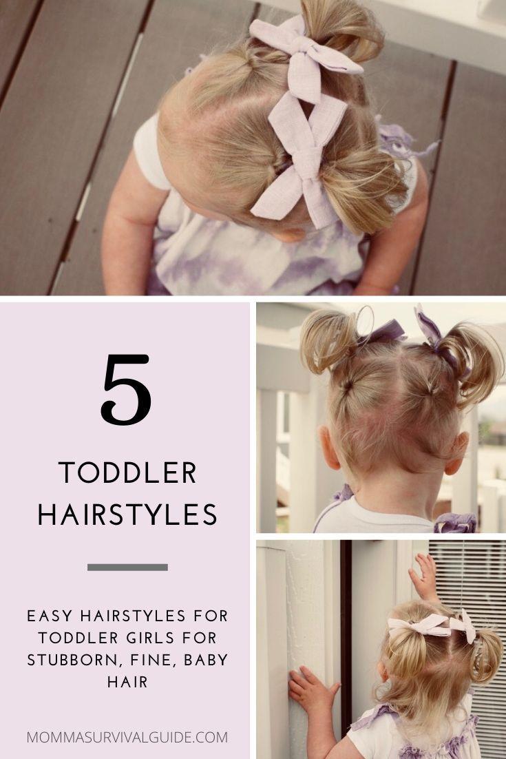 Toddler Girl Hairstyles   Toddler hairstyles girl fine hair, Baby ...