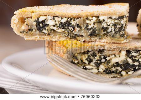 Chard Pastry Closeup