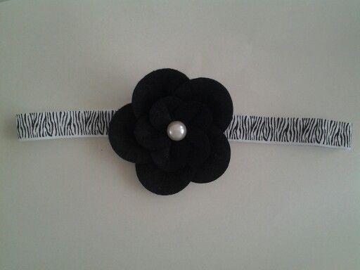 Bloem zwart