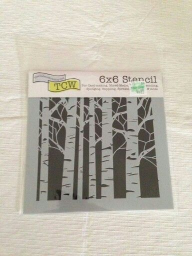Wall Stencil Patterns Hobby Lobby : Hobby lobby birch trees stencil check ac moore someone