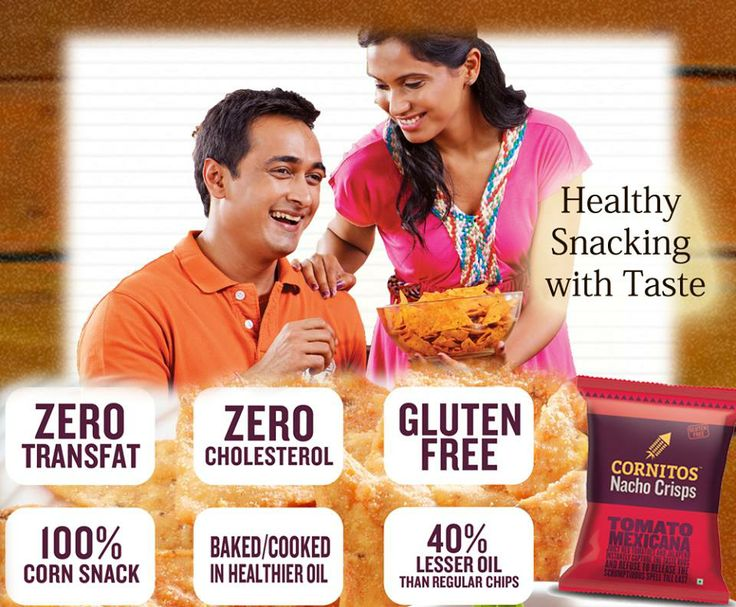 Snacking made tastier and healthier by CORNITOS! Grab your packet now!