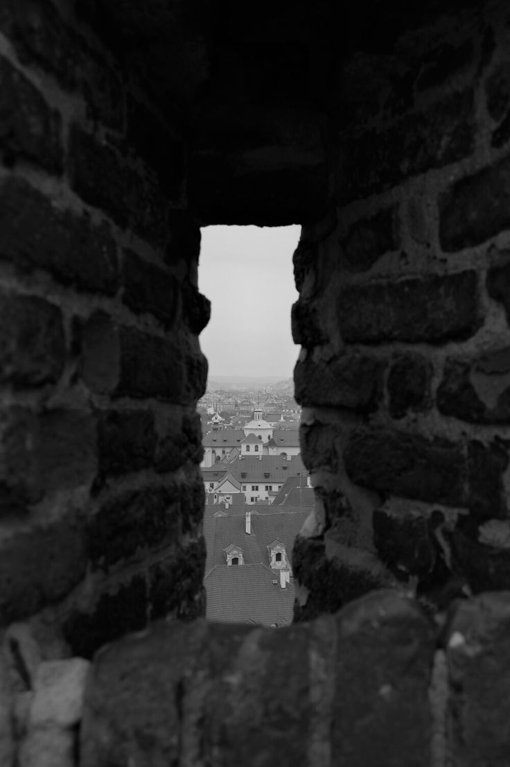 Detail of the city from Prague castle. <3