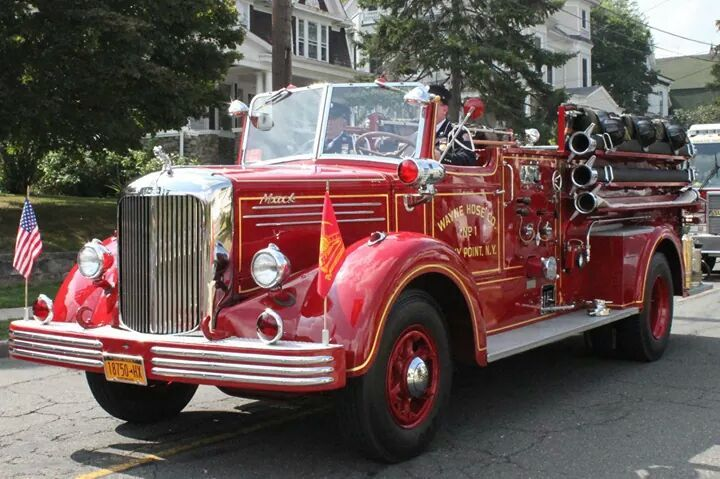 Old Mack Fire Trucks : Best ideas about mack fire trucks on pinterest