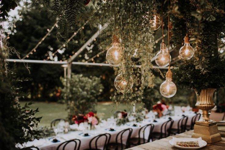 marquee wedding with epic florals at Lamont's Bishop House