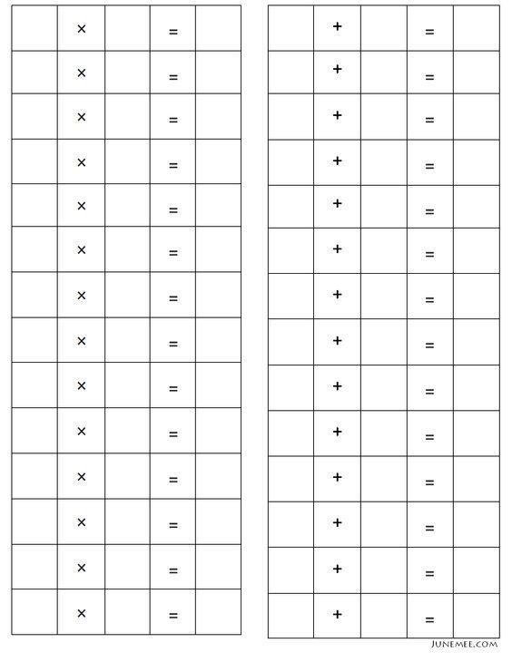 10557 best Math images on Pinterest Math activities, School and - math worksheet template