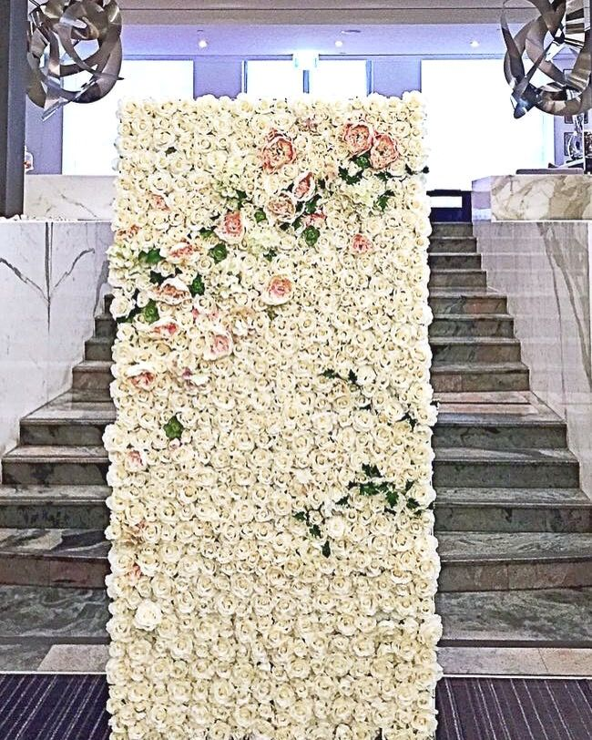 The Rose wall eventsbyalysia@gmail.com