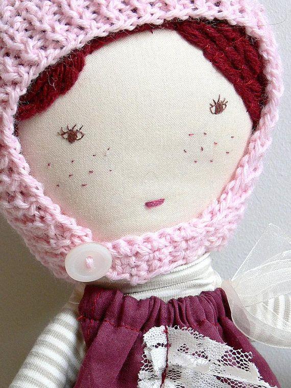 Rag doll Cloth Doll Dress up doll MATILDA