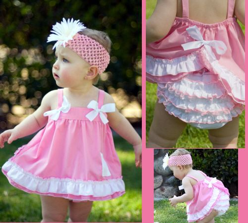 Christian Clothing; Toddlers Tops; Girls Tops; Ruffled Swing Tops