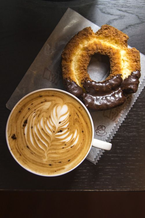 expresso-shots:  Coffee and a Donut
