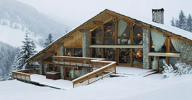 If you're planning a luxurious Winter break - Chalet Brames in Méribel is a ski resort in the Tarentaise Valley in the French Alps.