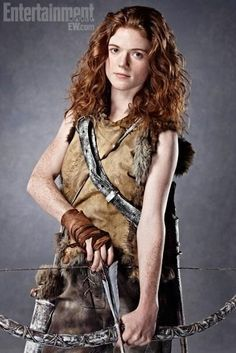 Ygritte, Rose Leslie in Entertainment magazine.