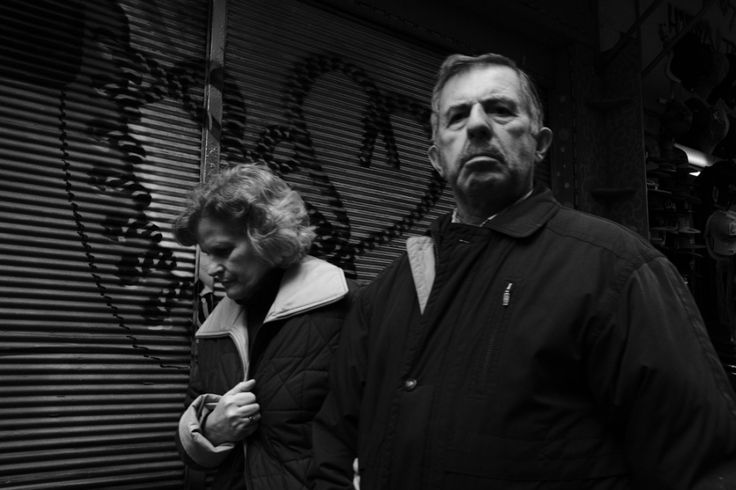"""Conflicts"" by Panagiotis Vyrinis, Street Photography in Black 'n White, Athens 2016"