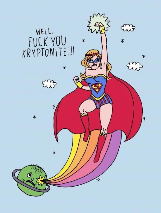 RETARD → Magazine - SUPERMAN ET LA KRYPTONITE