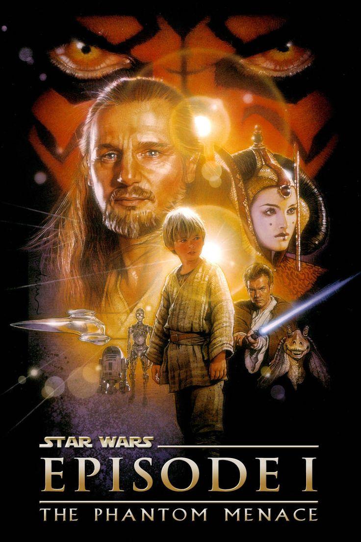 Star Wars: Episode I - The Phantom Menace (1999) Sciencefiction, Wanneer de slechte Trade Federation van plan is om de vredige planeet Naboo te veroveren, moet de Jedi-strijder Qui-Gon Jinn samen met zijn leerling Obi-Wan Kenobi proberen dit te voorkomen. Zij krijgen hulp van de jonge Koningin Amidala, en de Gungan Jar Jar Binks. Tijdens hun avontuur komen ze terecht op de planeet Tatooine, waar ze de jonge Anakin Skywalker tegenkomen. Qui-Gon en Obi-Wan zien in hem een mogelijk Jedi.