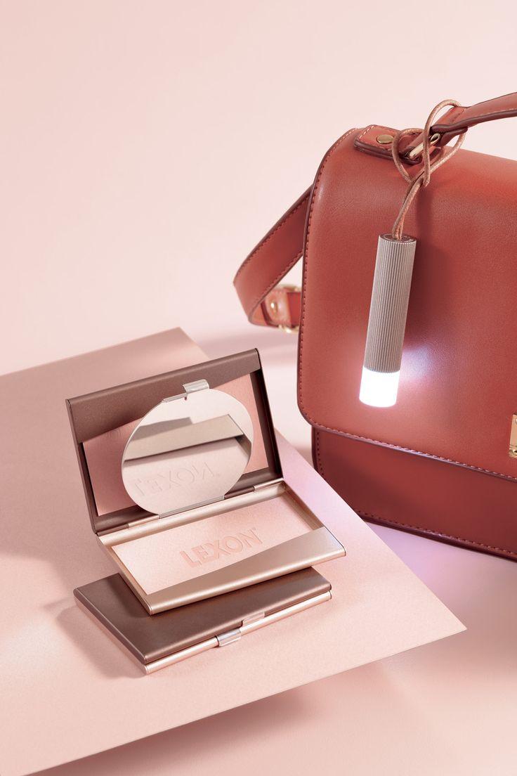 Lexon - FINE card box & baglight, design Pauline Deltour