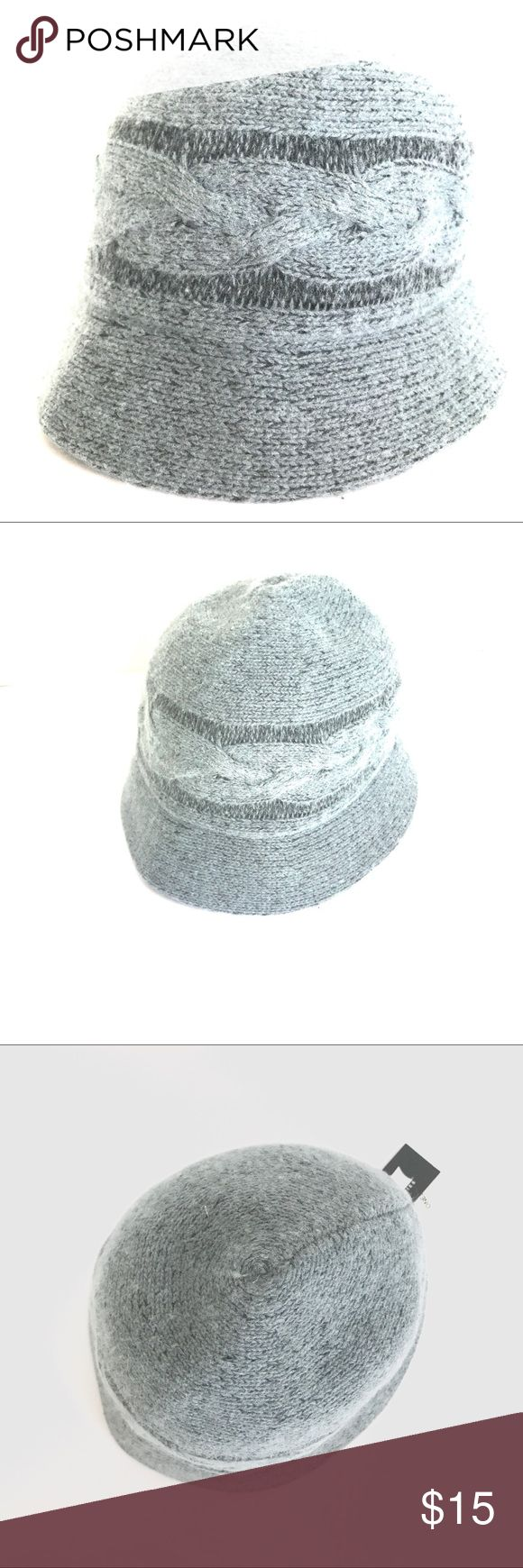 "August Gray Wool Blend Cloche Hat August Gray Wool Blend Cloche Hat, NWT, smoke free home.   Circumference : 23"" August Hats Accessories Hats"