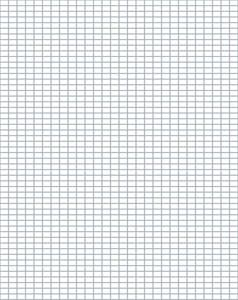 Download Our Free Knitter's Graph Paper -- 4 Stitches and 6 Rows Per Inch.