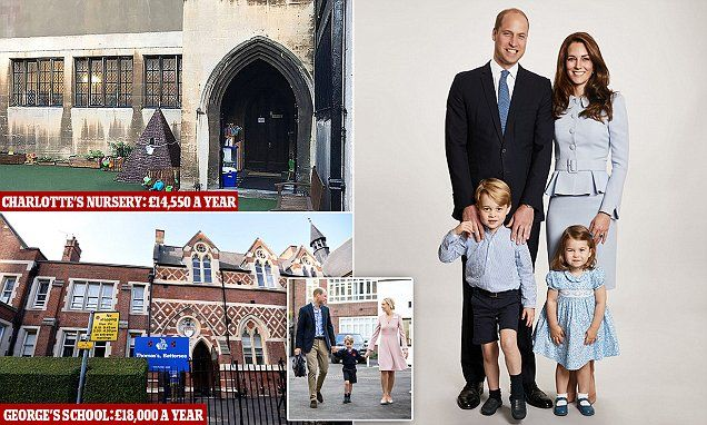 After the announcement that Princess Charlotte will be attending Willcocks nursery near Kensington Palace, SARAH VINE explains why both royal children should go to state schools.