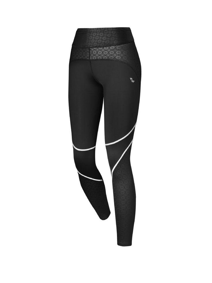 Dámske formujúce nohavice Shape Fiona Tights s gélovou potlačou na beh a šport.