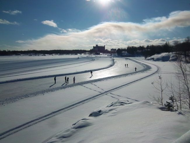 Ramsey Lake Skate Path, Greater Sudbury