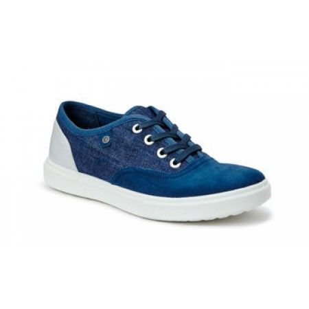 Clearence 59BSKEPJ Women Lovely High Converse Unisex Blue White Casual Shoes