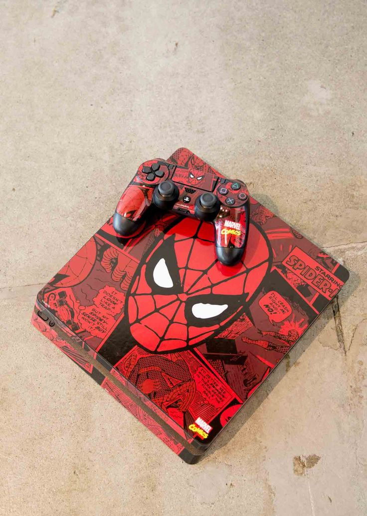 Customize your gaming console with official Marvel designs. Explore DC Comics Spiderman PS4 Slim skins - a collaboration with Marvel x Skinit. Skinit has partnered with Marvel to bring you official Spiderman Playstation Skins built with quality and care. Show off your comic style and shop all Spiderman designs online at Skinit now. #spiderman #spidey #ps4 #gamingskins