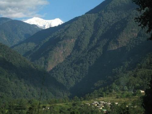 Kanchenjunga View From Yuksom
