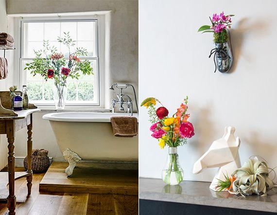 Badezimmer Deko Blumen Badezimmergestaltung Pflanzen Furs Bad
