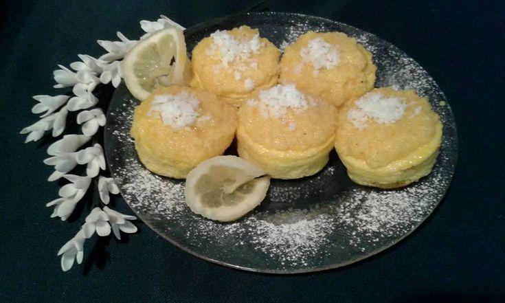 Lisztmentes, cukormentes paleo kókuszmuffin (tejmentes, gluténmentes)