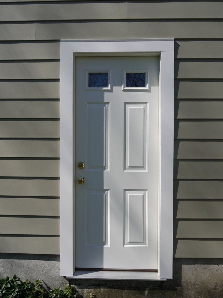 Azek Trim Front Door Pro Via Steel Entry Door Window