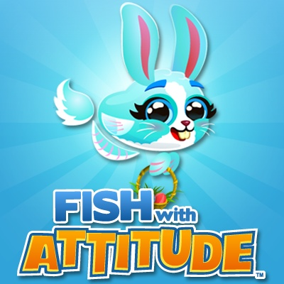 Fish with attitude limited edition easter fish is for Fish with attitude 2