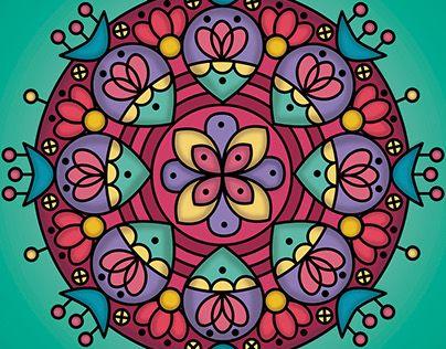 "Check out new work on my @Behance portfolio: ""Magic mandala"" http://be.net/gallery/41237325/Magic-mandala"