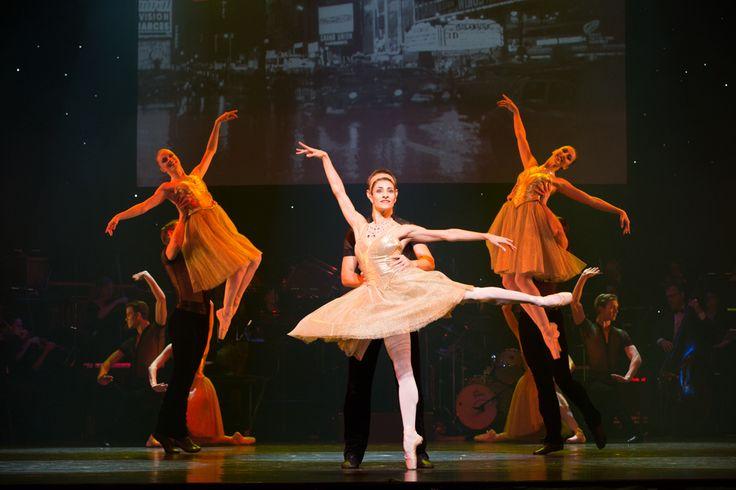 Overture in Queensland Ballet's Strictly Gershwin  Photo David Kelly