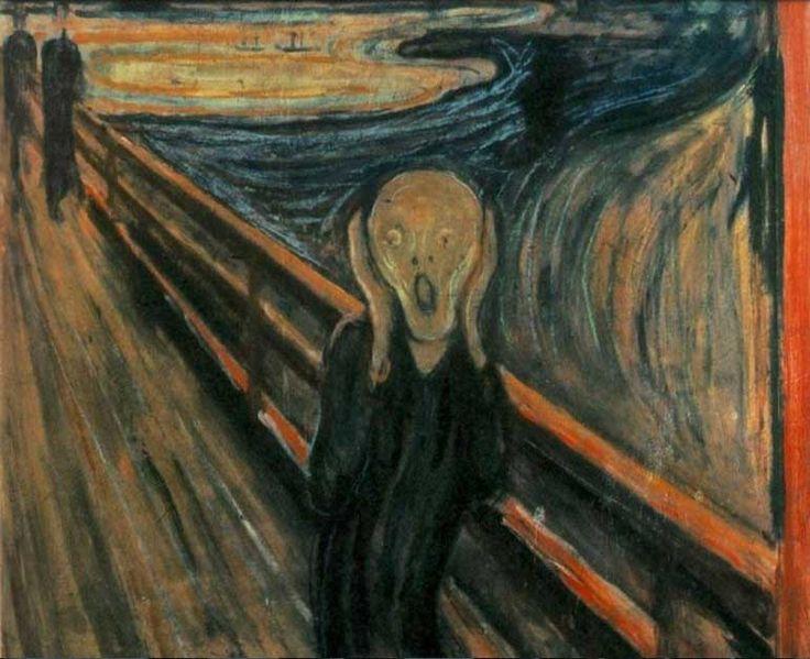 pinturas famosas el grito museo nacional noruega