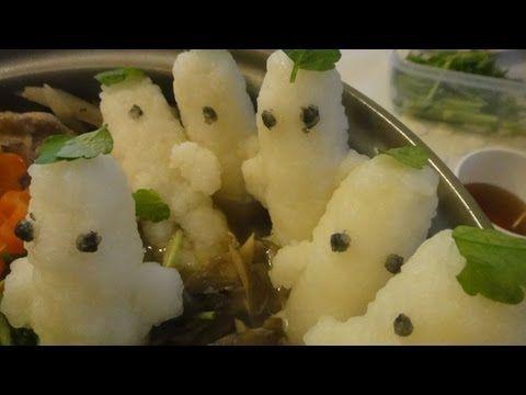 """きりたんぽ鍋つくってみた*Japanese Traditional Food """"Nabe"""" キャラごはんレシピ"""