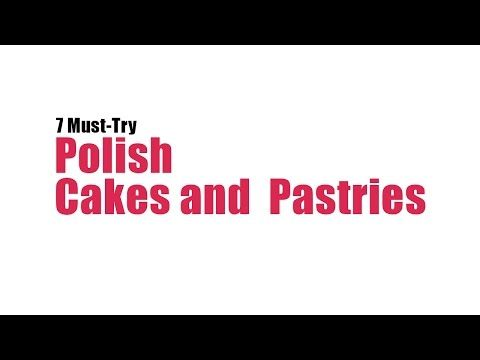 7 Must-Try Polish Cakes and Pastries | Article | Culture.pl