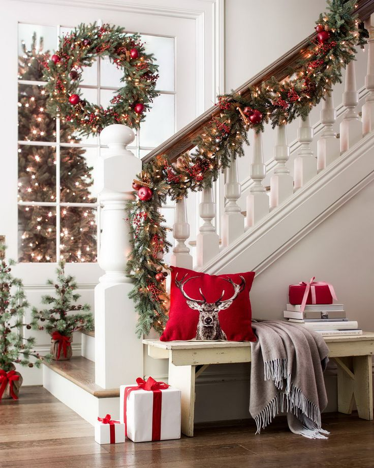 Everyone will be thrilled to come home for the holidays this season with our sensational Heritage Spice Christmas wreath and garland. The exquisite foliage modeled after our Sugarlands Spruce evokes warm nostalgia, as the wreath and garland are lovingly laden with natural embellishments.