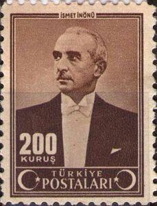 İSMET İNÖNÜ 1943 (200 KURUŞ)