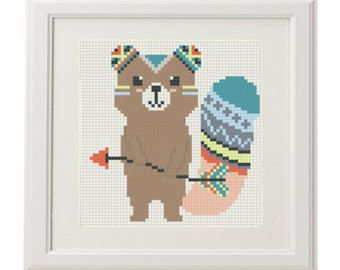 Bear baby Cross Stitch Pattern  animal bear animals Baby